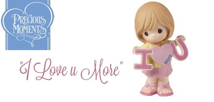 Precious Moments: I Love U More