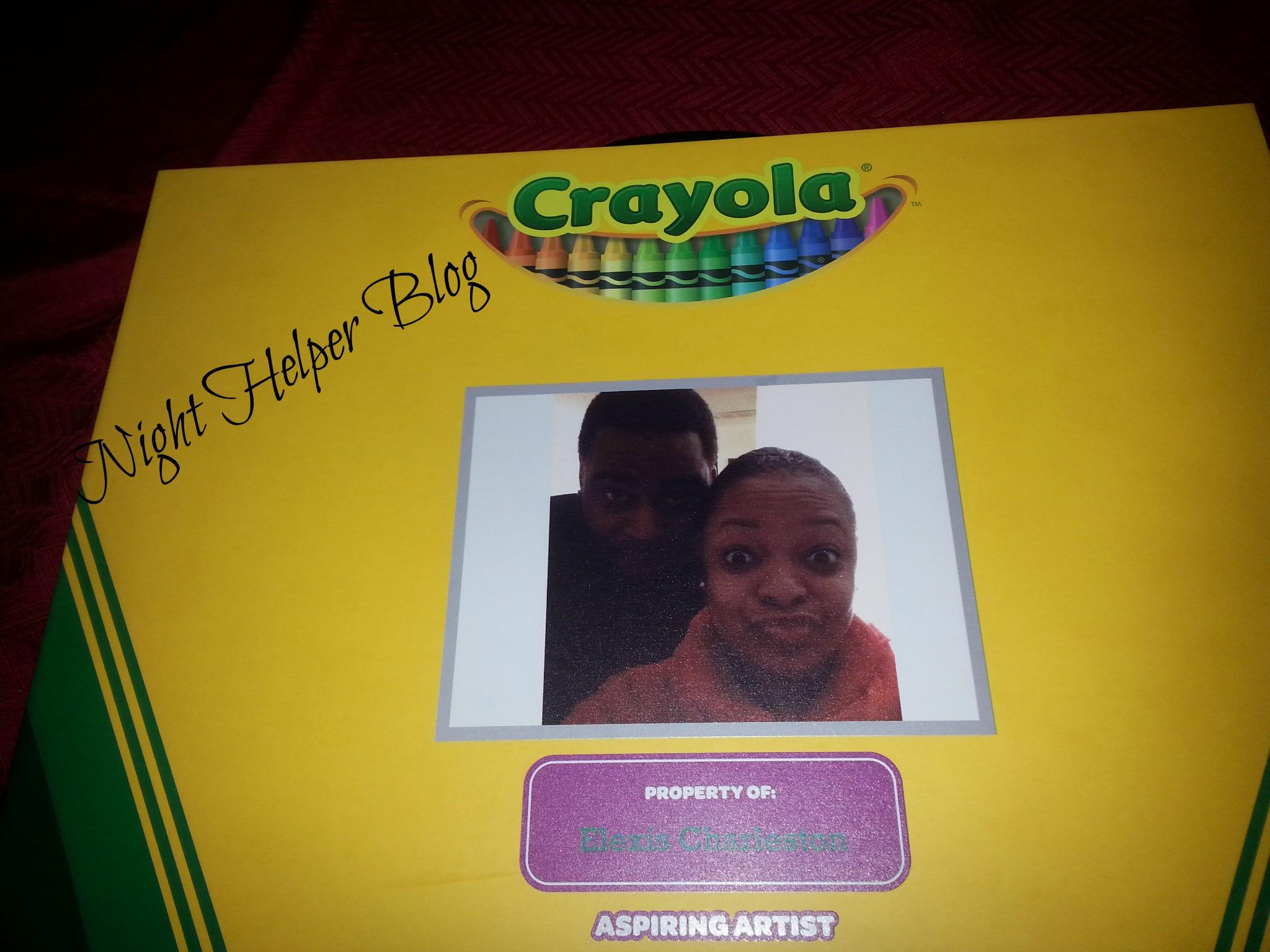 lisa crayons
