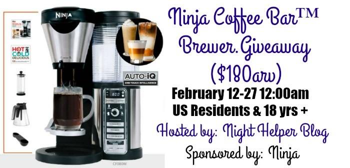 Happy Valentine's Day Ninja Coffee Bar Giveaway