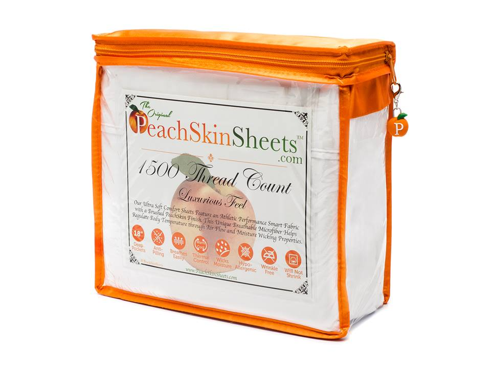 Happy Valentine's Day from The Original PeachSkinSheets, the perfect sheet set for your bed!