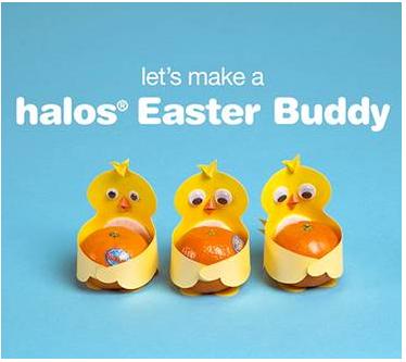 Wonderful Halos Easter Buddy
