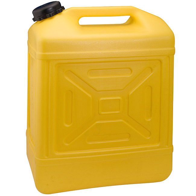 Image result for yellow water container