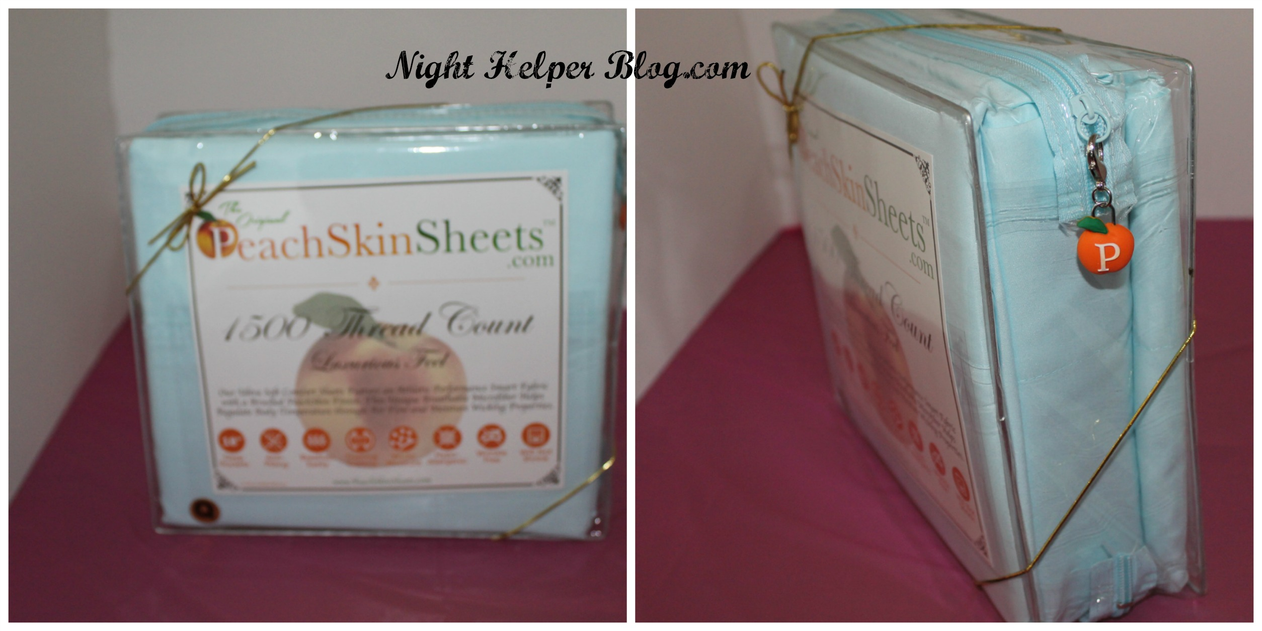 Happy Easter from The Original PeachSkinSheets, ready for a good night sleep.