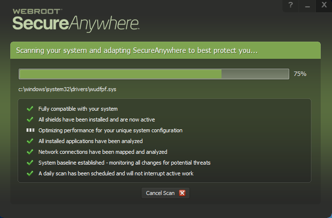 webroot secure anywhere downloading