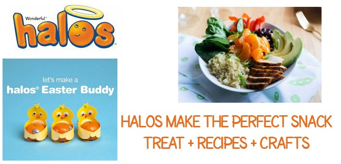 Halos Make the Perfect Snack Treat + Recipes + Crafts