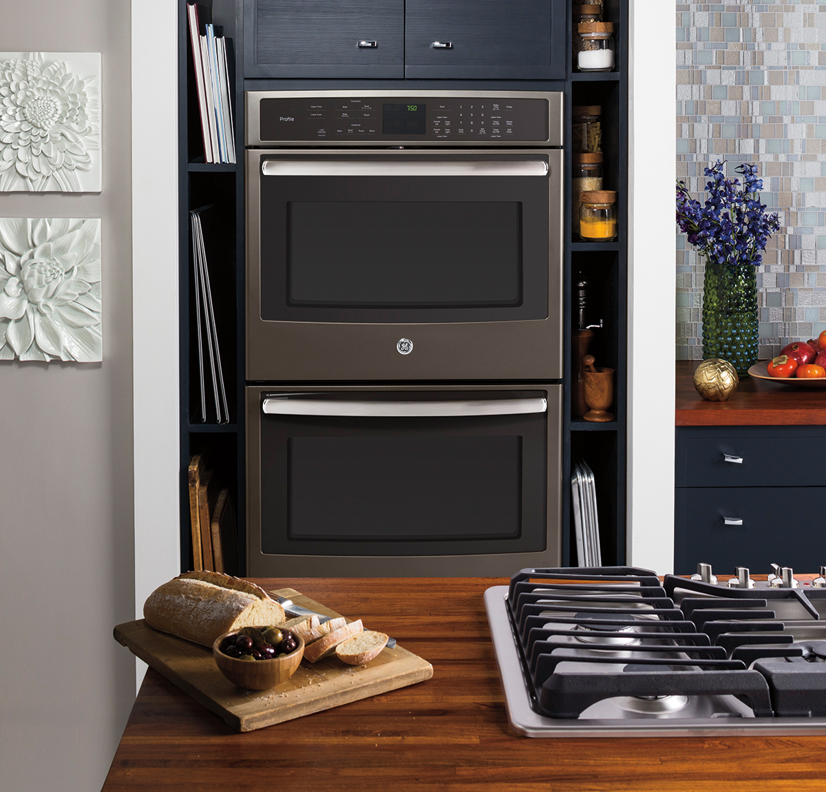 Spice Up Your Kitchen With GE's New Slate Finish