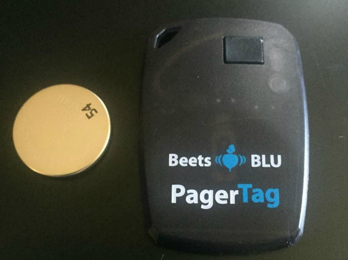 beets blu pagertag