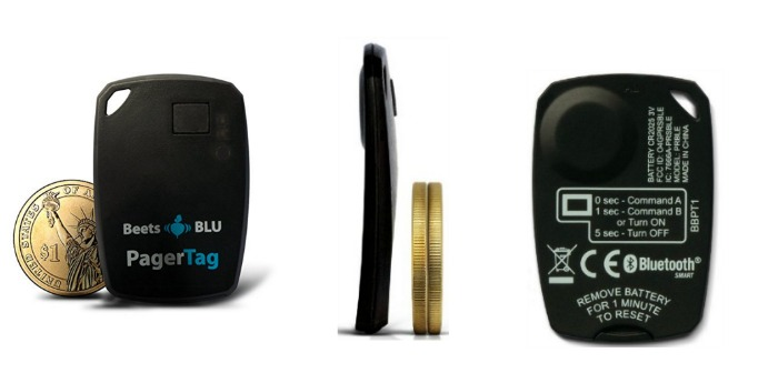 Beets Blu PagerTag Helps with Misplaced Keys, Wallets and More!