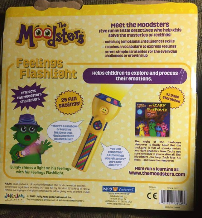 moodsters feeling flashlight
