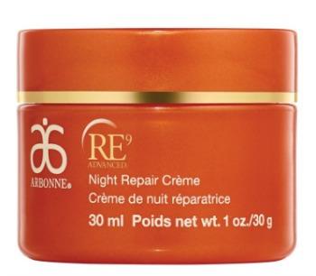 arbonne night repair creme