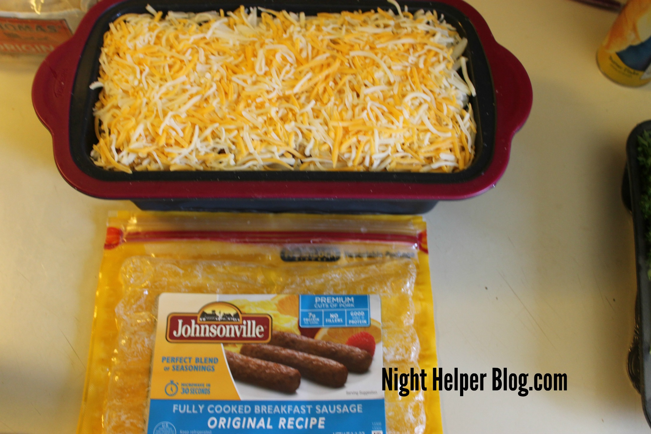 A Mother's Day Breakfast Meal from Johnsonville, she'll never forget the taste!