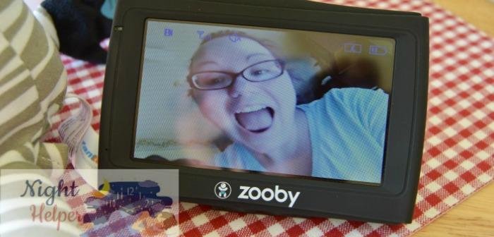 Always in Sight with zooby Car & Home Baby Monitor