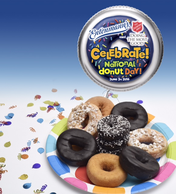Entenmann National Donut Day June 3