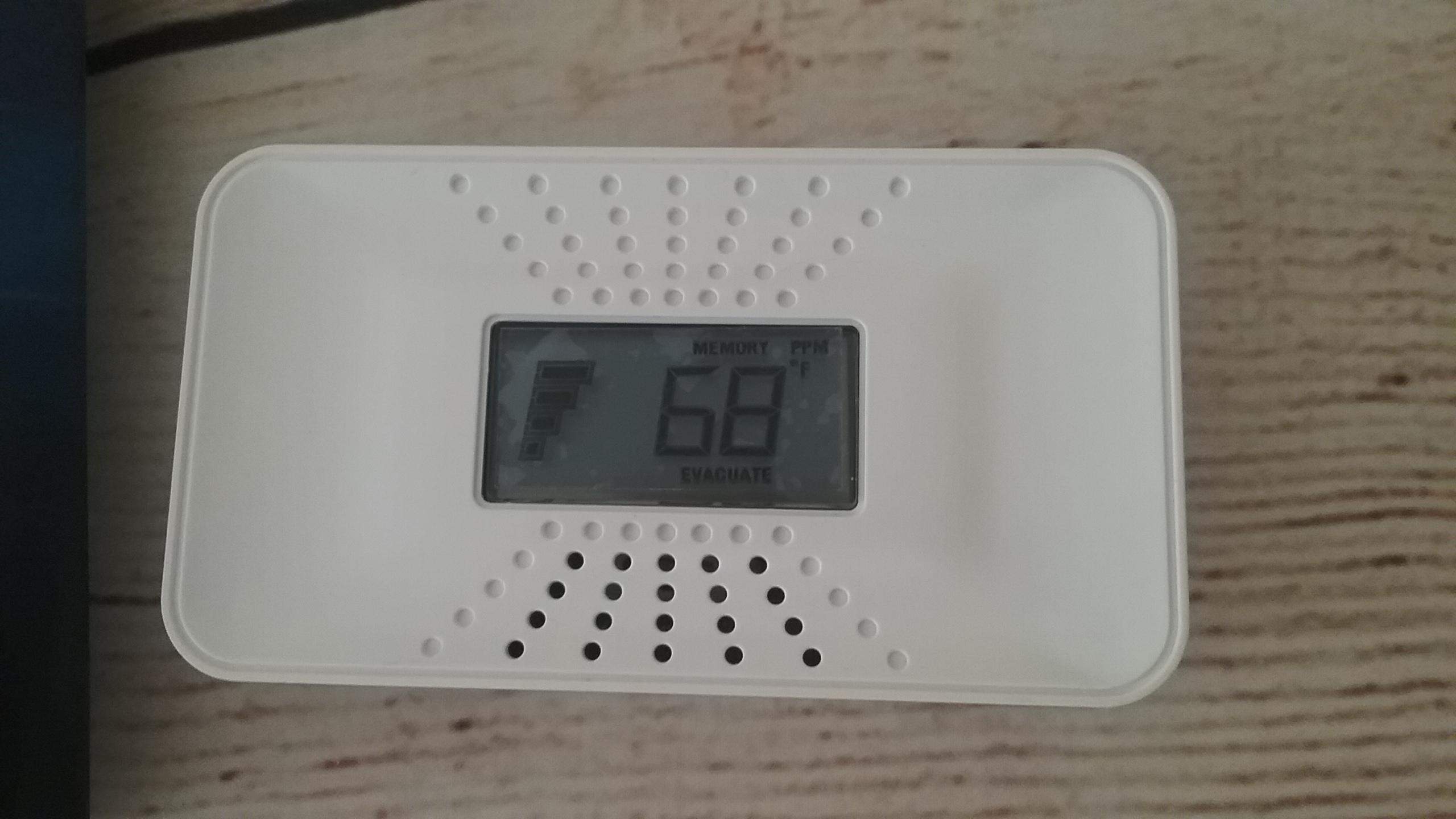 First Alert Carbon Monoxide Detector, keeping your family safe!