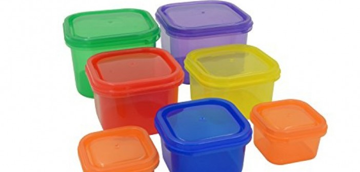 Using Food Containers for a Portion-Control Diet.