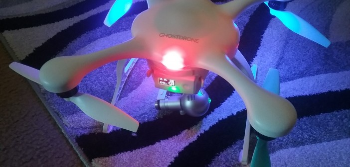 GHOSTDRONE 2.0 – VR – White/Blue Color, flying through the eyes of a drone. #Amazing!!