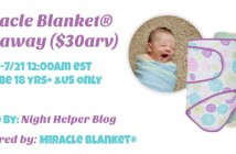 miracle blanket giveaway