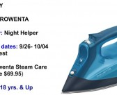 """Rowenta SteamCare Iron,""""Get Your Ironing On,"""" Giveaway!"""