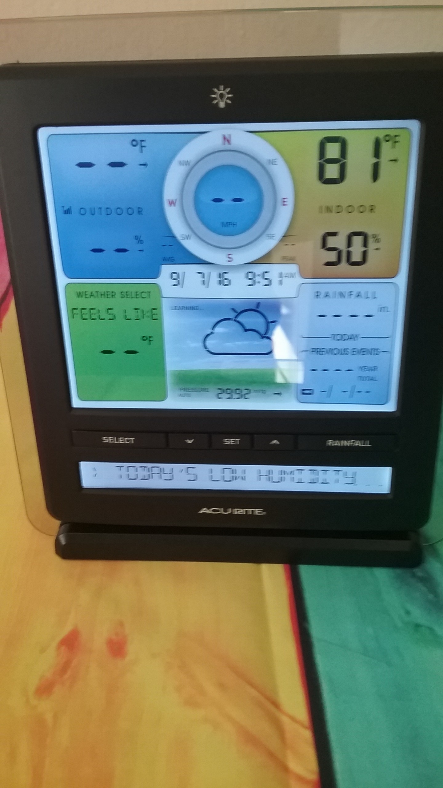 prepare your home with acu rite pro 5 in 1 weather station with