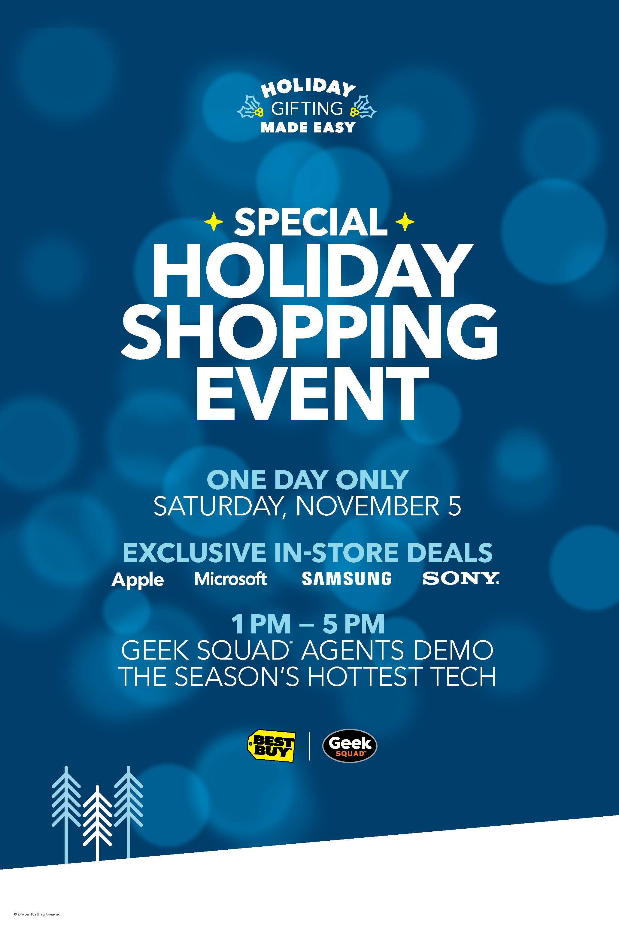 Best Buy Holiday Shopping Event. @BestBuy #GiftingMadeEasy  #ad