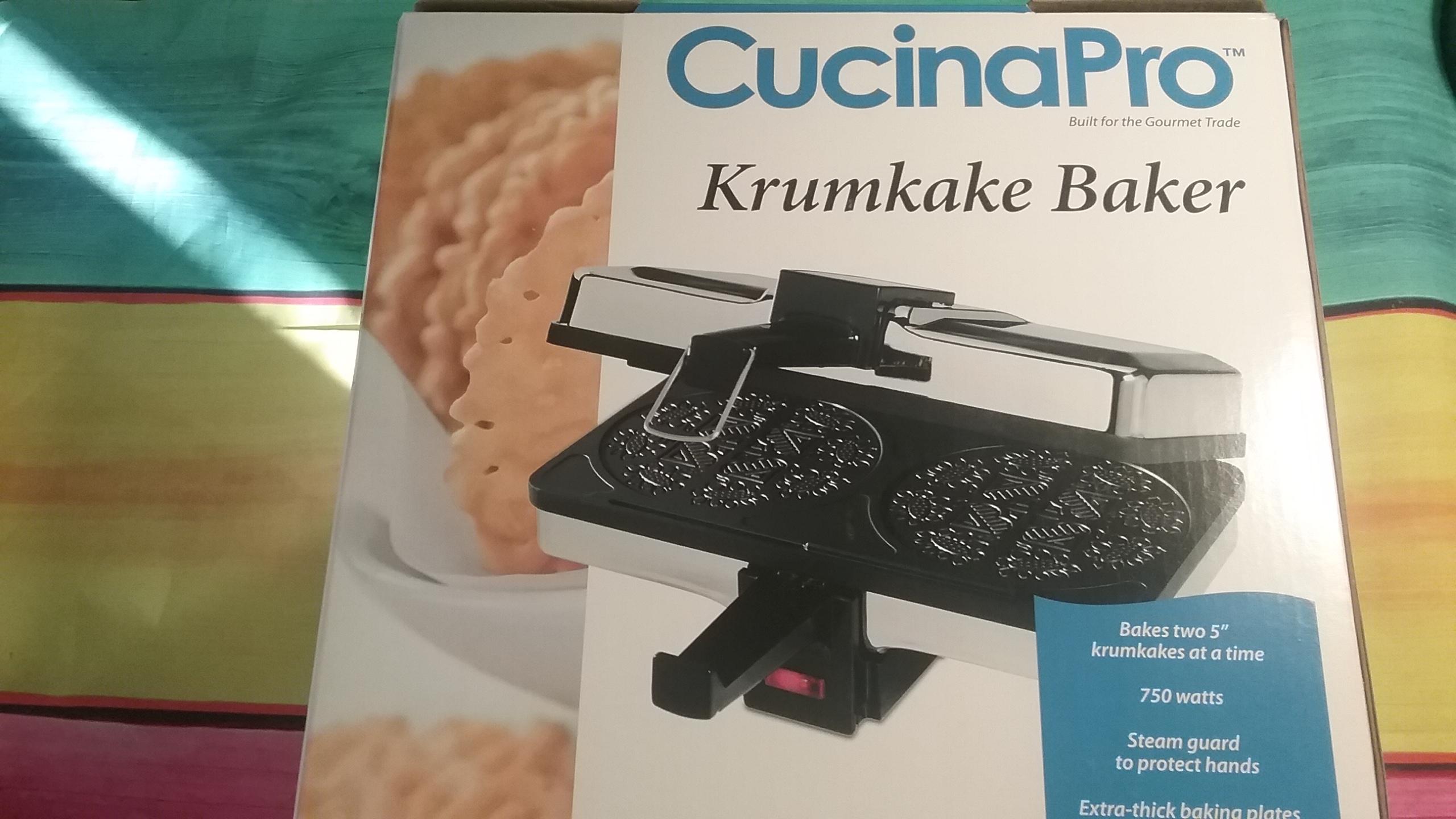 2016 Holiday Gift Guide CucinaPro Bubble Waffle Maker, Krumkake Baker.
