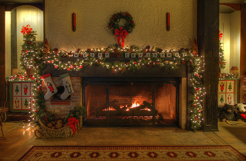 christmas-fireplace-photography-favim-com-248482