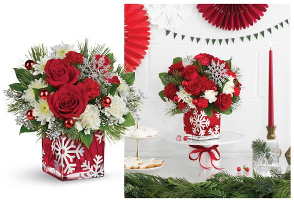 Cant be there this holiday season deliver yourself with flowerstelf solutioingenieria Gallery