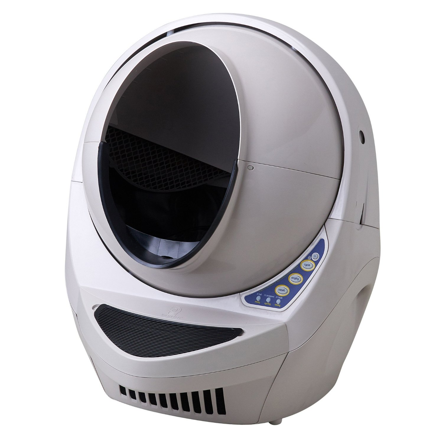 Litter-Robot III Open Air Automatic Self-Cleaning Litter Box , give your cat the privacy he or she deserves!