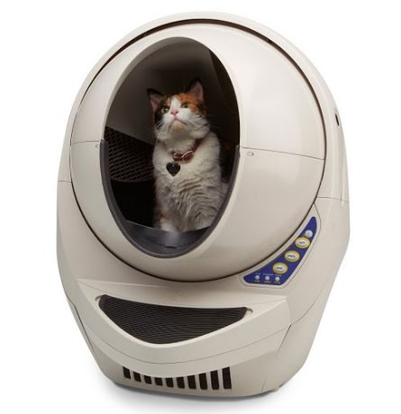 litter-robot-open-air-with-cat