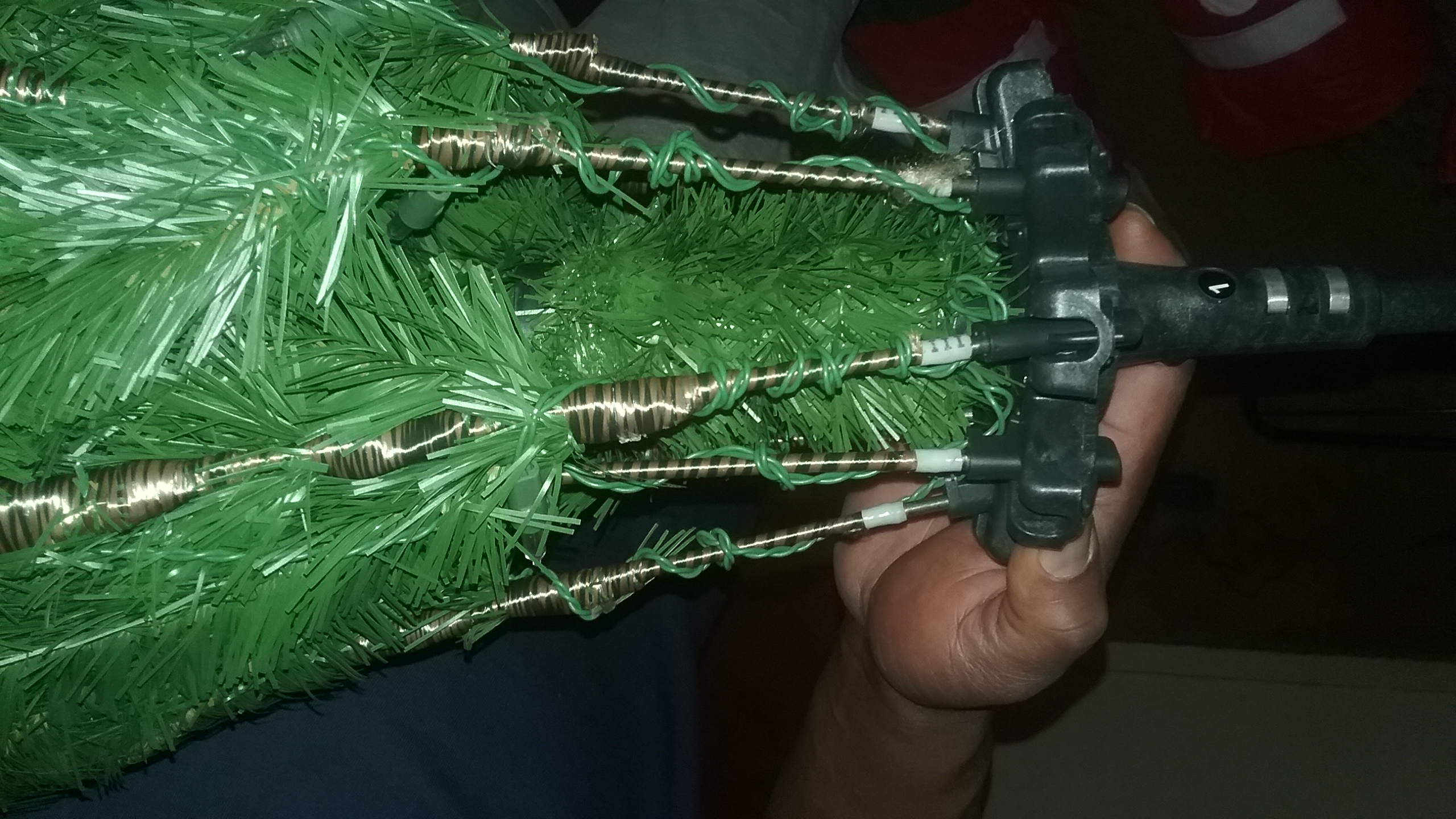 The Ultima 7 5ft Pre Lit Artificial Christmas Tree That