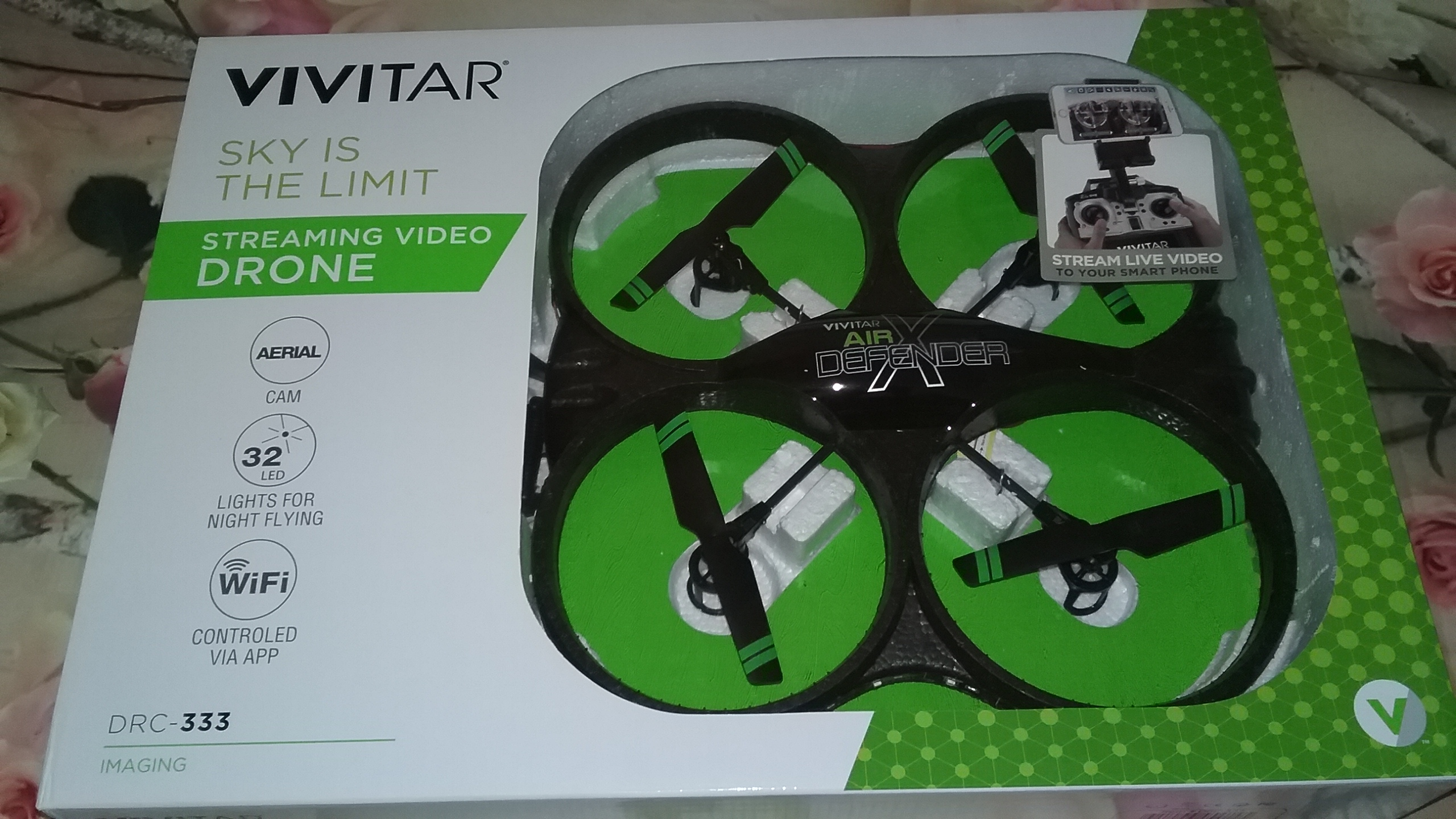 2016 Holiday Guide, Come Fly High With Me With Vivitars DRC-333 Air Defender X Camera Drone.