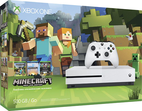 Are You A Minecraft Fan? Get Ready To Head to Best Buy For Minecraft Xbox One S Console and Accessories @BestBuy @Minecraft #ad