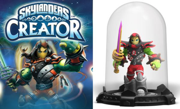 Get Ready To Create Your Own 3D Skylander, it's fun and easy to do!