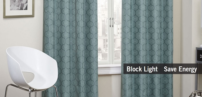 Change the look of your room: Curtains by Eclipse