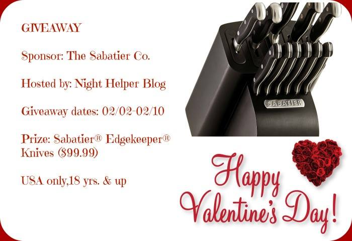 It's A Sabatier® Edgekeeper® Knives Giveaway!