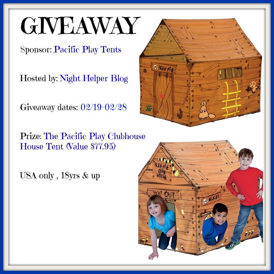 Pacific Play Tent Clubhouse Tent Giveaway