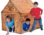 Imaginations Will Flow With The Pacific Play Clubhouse House Tent, kids will LOVE IT!
