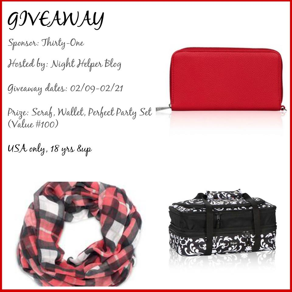 Thirty-One Prize Pack Giveaway!