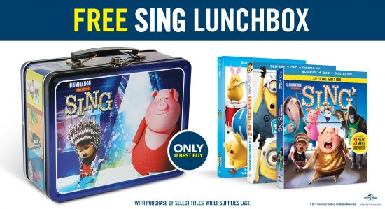 Great Family & Kids Movies Now @BestBuy, you can even grab the SING Movie! #ad #bbymovies
