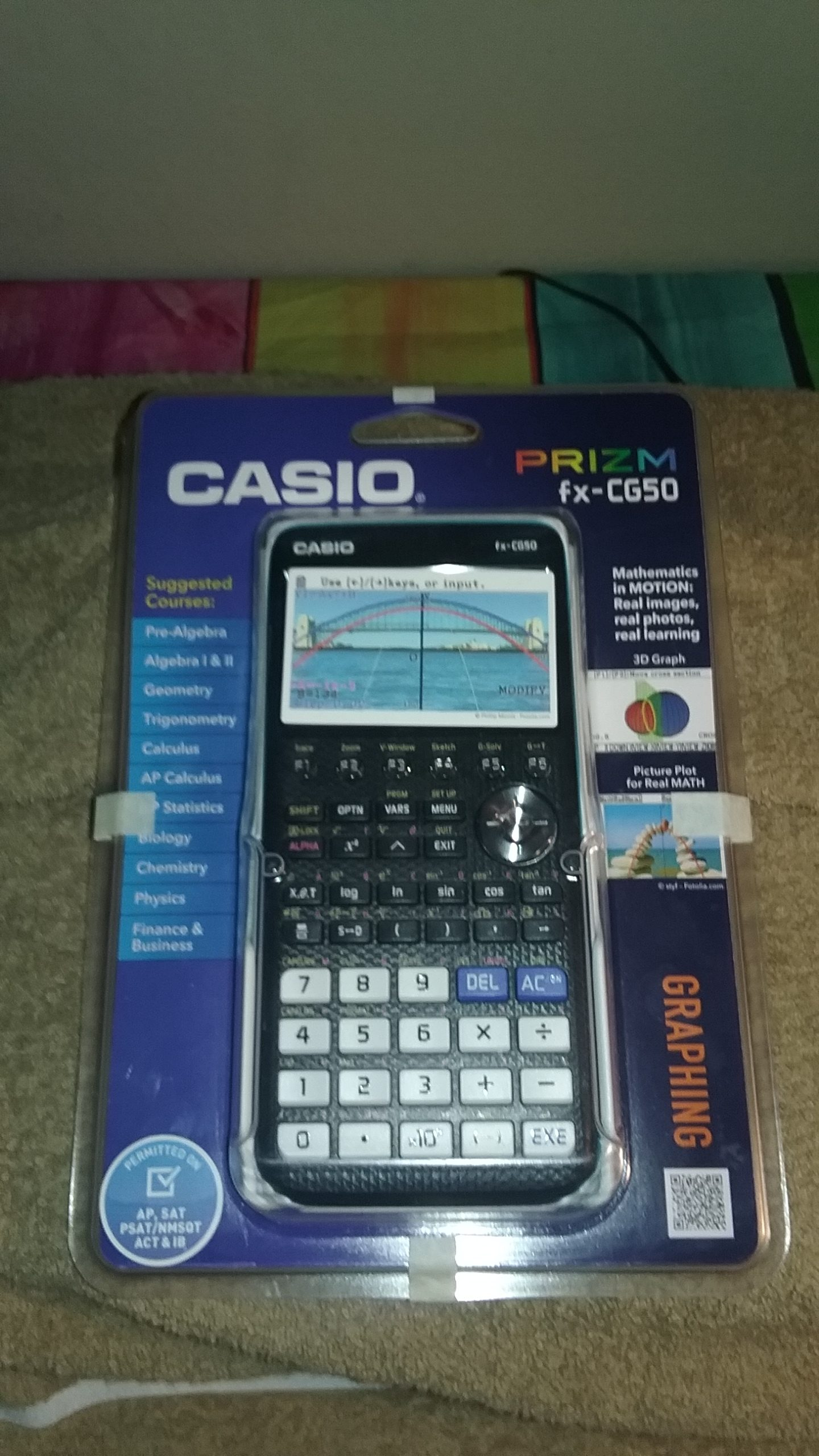 Casio\'s PRIZM fx-CG50, Students and Teachers will love this! - Night ...