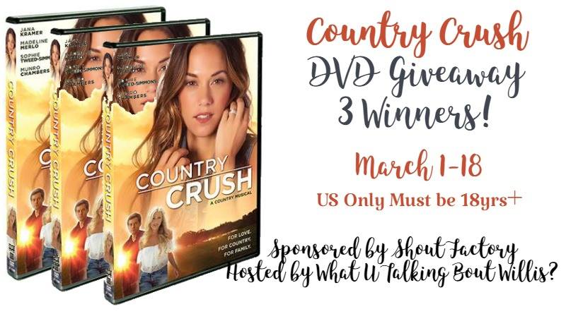 Welcome to the Country Crush Giveaway!