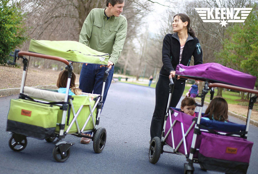 "Welcome To Our ""All Season Kids Guide""! Today's Showcase Is The Keenz Stroller Wagon."