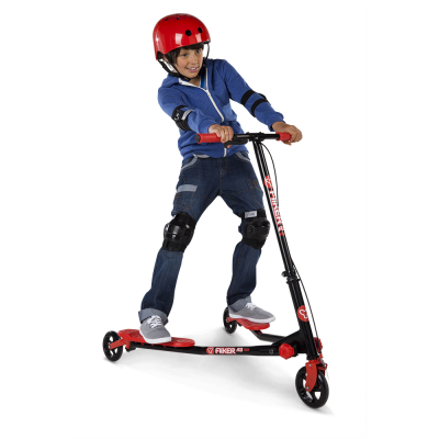 "Welcome To Our ""All Season Kids Guide""! Today's Showcase Is The New Y Fliker A3 Red from Yvolution™"