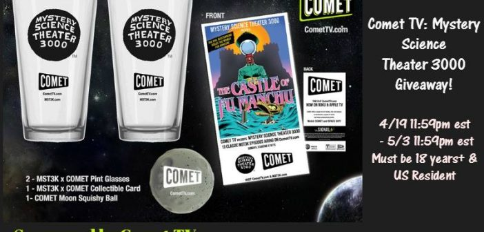 Welcome to the Comet TV Giveaway!
