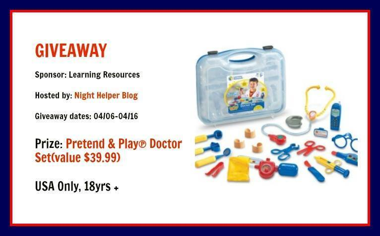 Pretend & Play Doctor Set Giveaway!