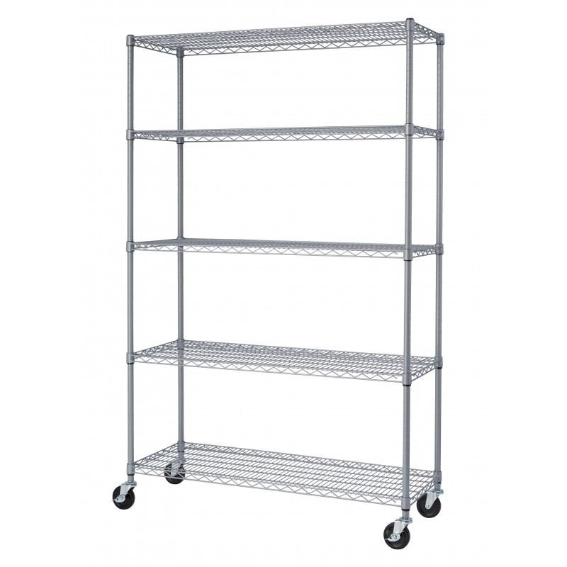 TRINITY 5-Tier Outdoor Wire Shelving Rack, the perfect rack to store ...