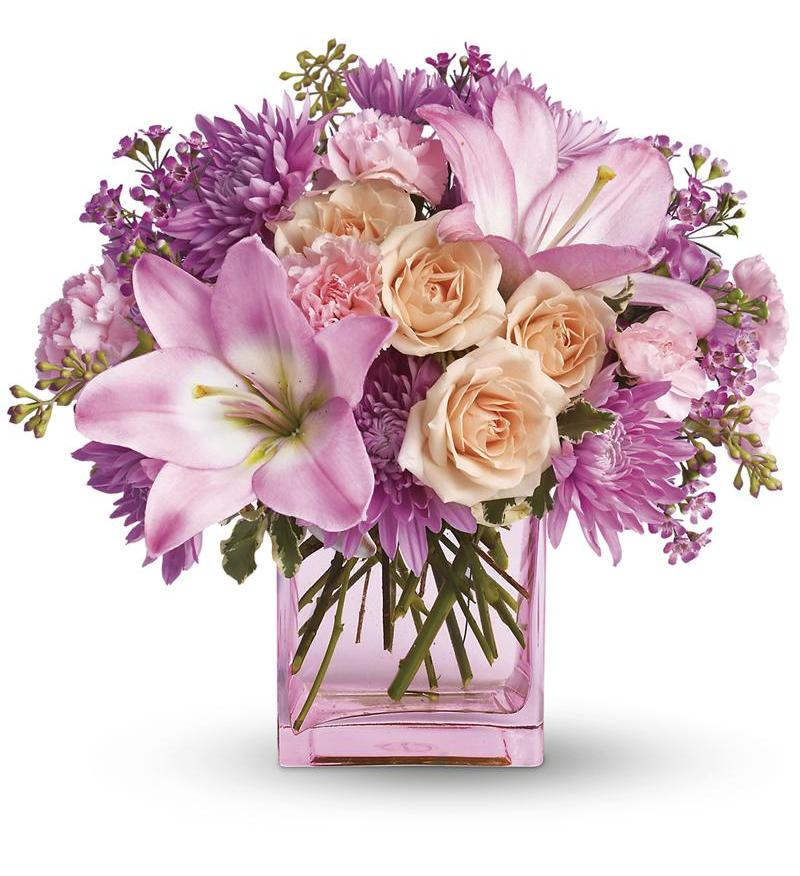 Send Mom A Teleflora Just Like Her Flower Bouquet This