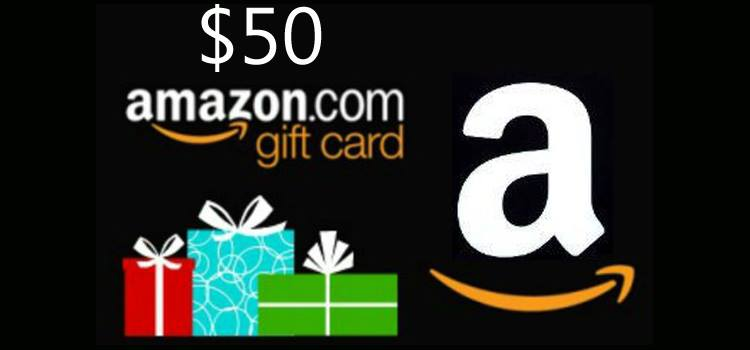 Yay! It's An $50 Amazon Gift Card Giveaway!