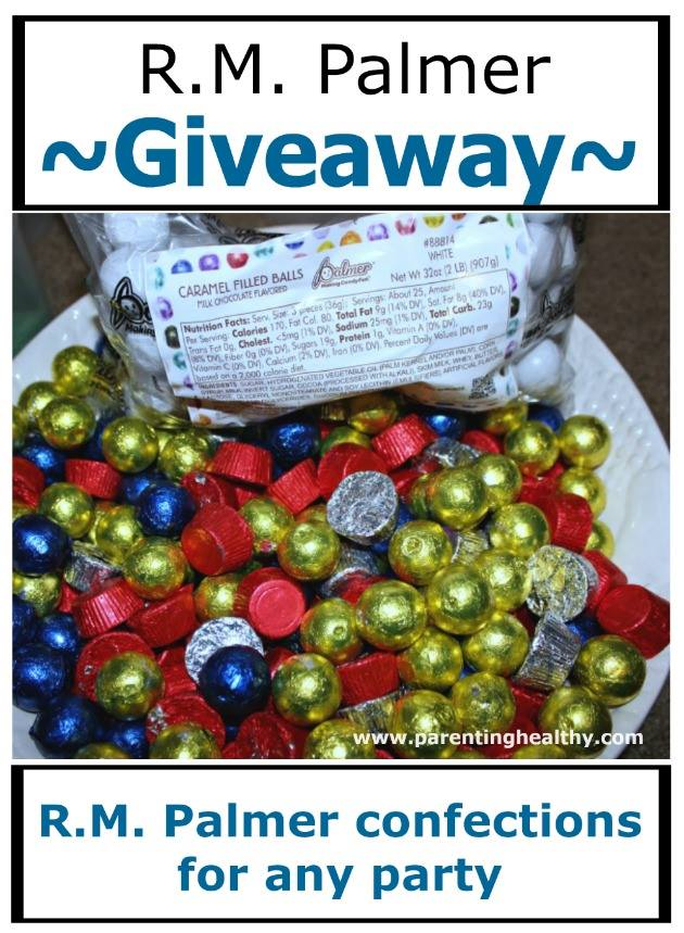 Welcome to the R.M. Palmer Candy Giveaway!