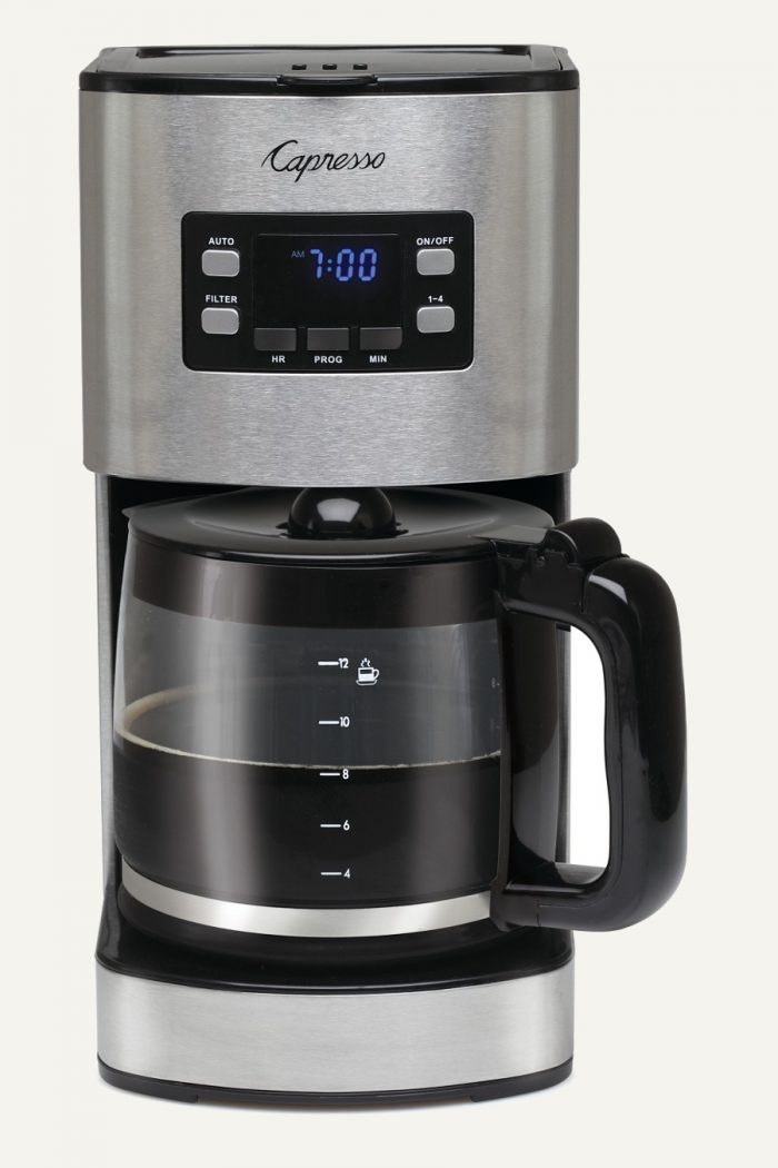 2017 Mother's Day Guide Featuring The SG300 12-Cup Stainless Steel Coffee Maker from Capresso